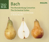 Brandenburg Concerto No. 3 in G, BWV 1048: I. Allegro - Academy of St. Martin In the Fields & Sir Neville Marriner