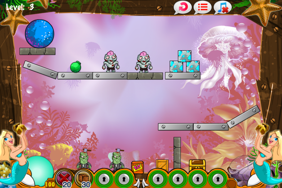 Magic Mermaids - Puzzle World And Life Under the Sea!